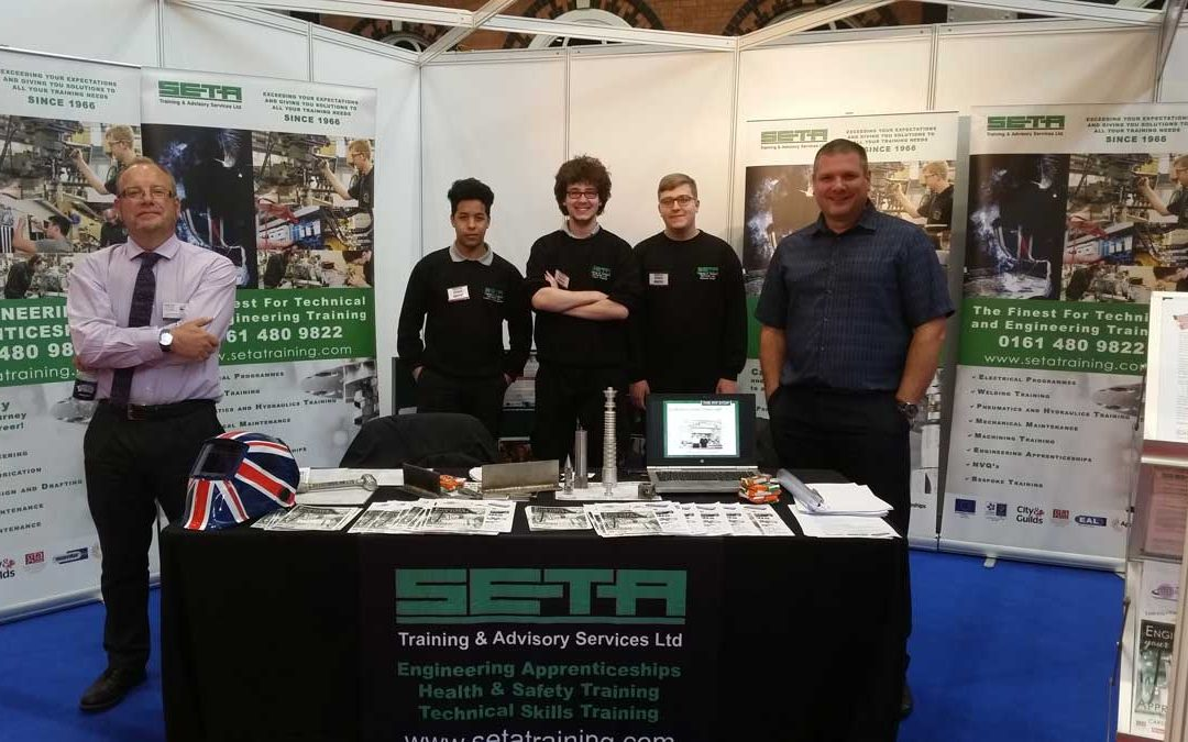 Great success for SETA at the National Apprenticeship Show in Manchester